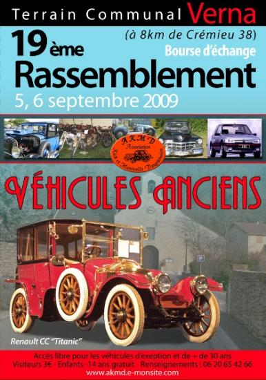 Voiture collection 25 ans