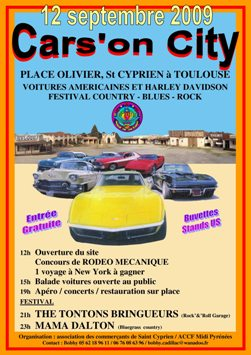 Cars on city for Garage tuning toulouse