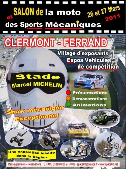 salon des sports m caniques et de la moto 2011 clermont ferrand. Black Bedroom Furniture Sets. Home Design Ideas