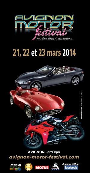 Avignon motor festival 21 22 et 23 mars 2014 for Garage forum automobile avignon