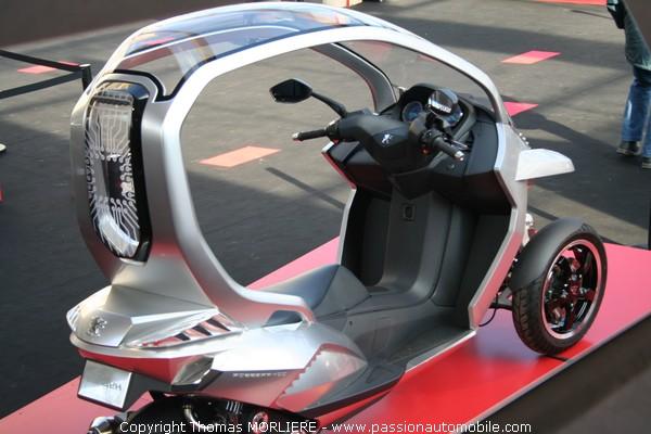 peugeot hybrid 3 compressor 2008 festival automobile 2009. Black Bedroom Furniture Sets. Home Design Ideas