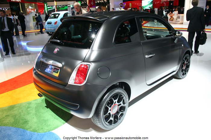 fiat 500 twinair start stop blackjack 2010 au SALON MONDIAL DE L