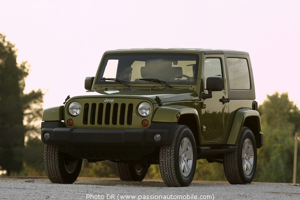 jeep wrangler 2006 au mondial de l 39 automobile 2006. Black Bedroom Furniture Sets. Home Design Ideas