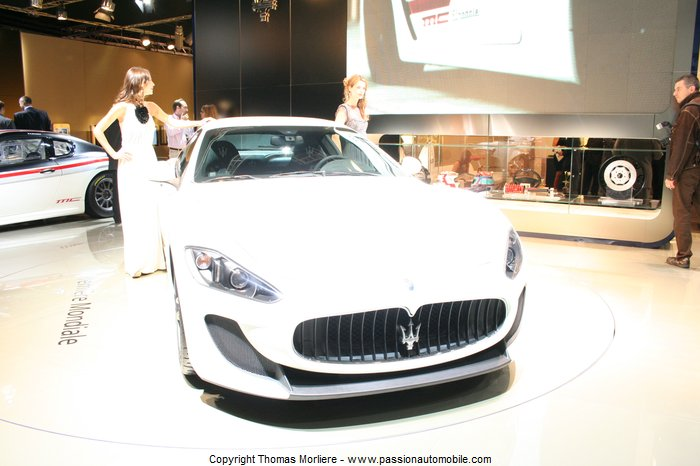 maserati granturismo mc stradale 2010 au mondial de l 39 auto 2010. Black Bedroom Furniture Sets. Home Design Ideas