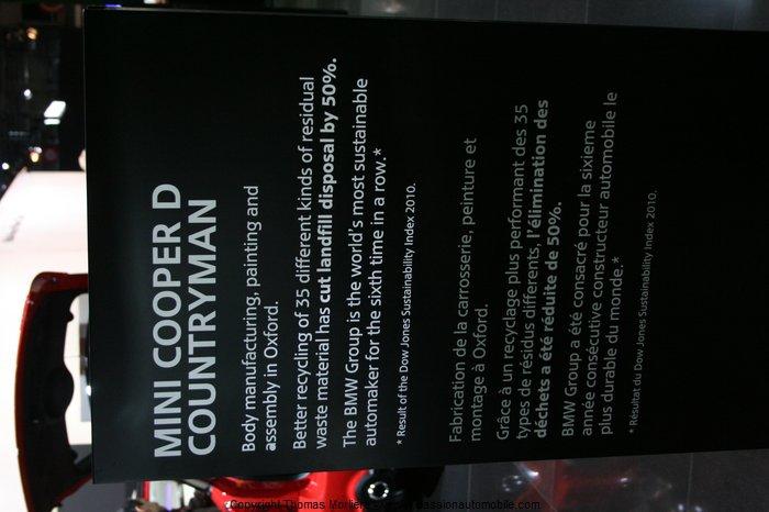 mini cooper d countryman 2010 (Mondial de l'automobile 2010)