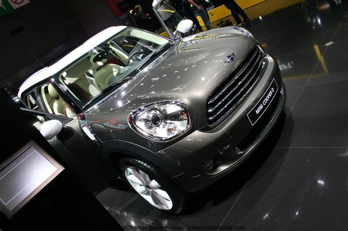 mini cooper d countryman 2010 (Mondial automobile 2010)