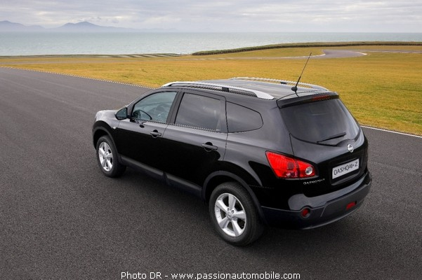 nissan qashqai 7 places mondial de l 39 automobile 2008. Black Bedroom Furniture Sets. Home Design Ideas