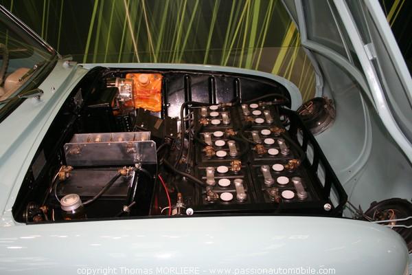 Renault Dauphine electrique 1959 (Salon de l'automobile 2008)