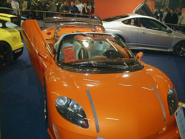 opel speedster caliber paris tuning show 2004. Black Bedroom Furniture Sets. Home Design Ideas