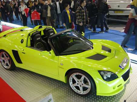 opel speedster paris tuning show 2003. Black Bedroom Furniture Sets. Home Design Ideas