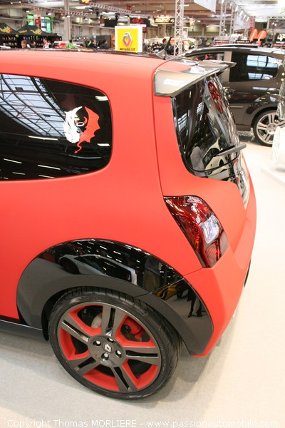 nouvelle twingo renault sport 2009 salon tuning de paris. Black Bedroom Furniture Sets. Home Design Ideas