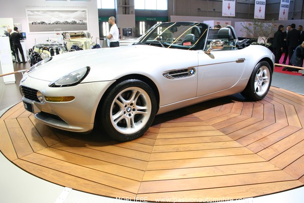 bmw z8 cabriolet salon voiture de collection retromobile 2009. Black Bedroom Furniture Sets. Home Design Ideas