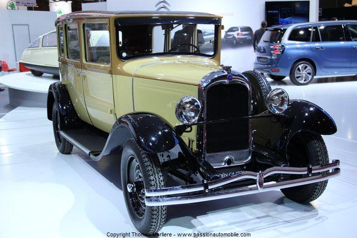 Citroen c4 g familiale 1931 au salon retromobile 2014 for Salon retromobile lyon