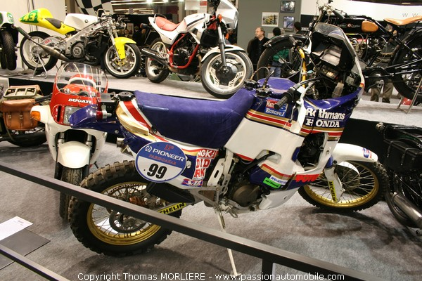 moto honda nrx paris dakar 1989 retromobile 2009. Black Bedroom Furniture Sets. Home Design Ideas