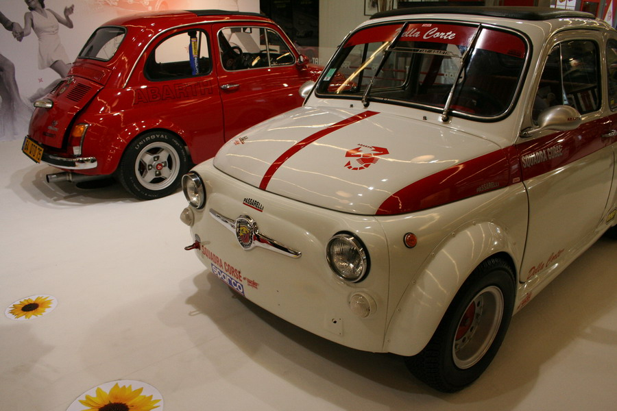 Fiat 695 Abarth Ss Retromobile 2007