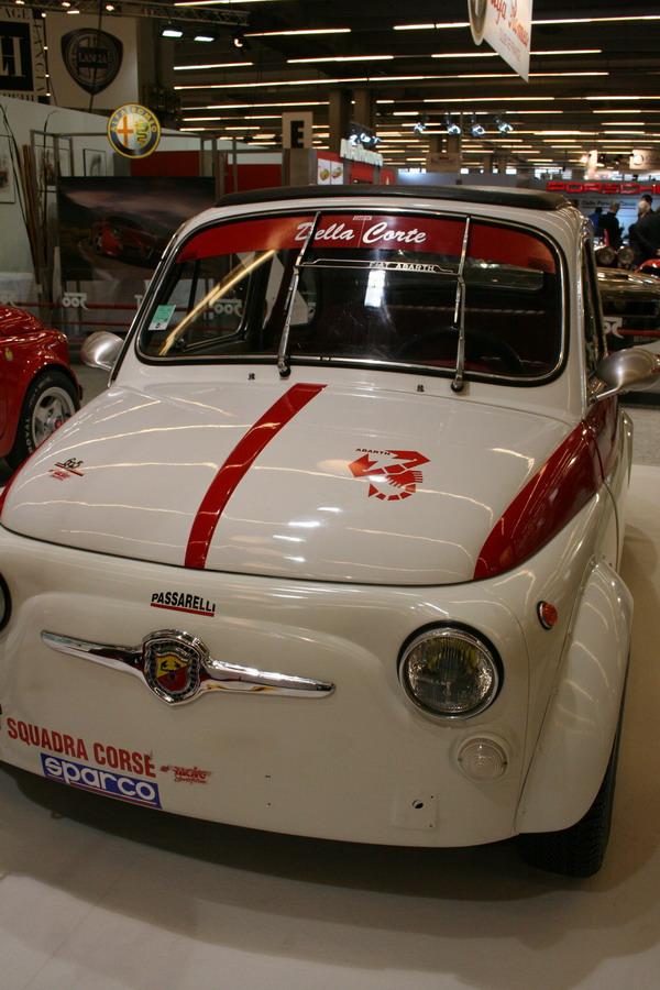 Fiat Abarth 695 Ss Retromobile 2007