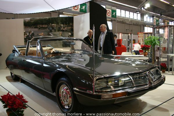 sm pr sidentielle 1972 au salon retromobile 2007. Black Bedroom Furniture Sets. Home Design Ideas