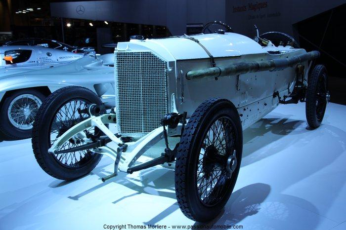 Voiture de course mercedes grand prix 1914 au salon for Salon retromobile lyon
