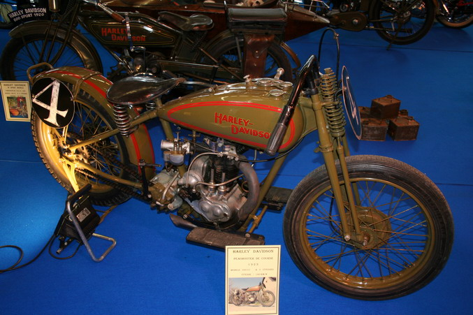 harley davidson peashooter de course 1923 salon 2 roues lyon 2007. Black Bedroom Furniture Sets. Home Design Ideas