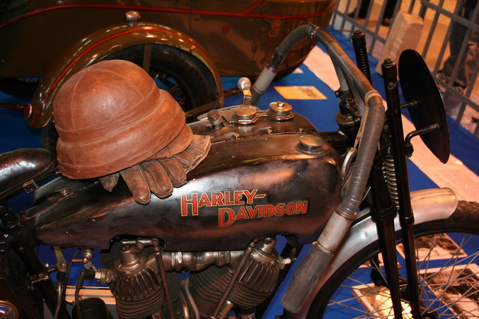 harley davidson racer 1925 salon 2 roues lyon 2007. Black Bedroom Furniture Sets. Home Design Ideas