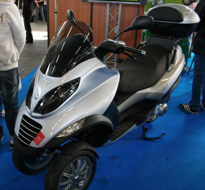 Piaggo mp3 125 salon 2 roues lyon 2007 - Salon 2 roues lyon ...