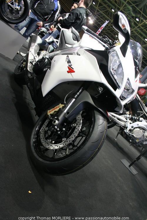Aprilia rsv4 r salon 2 roues de lyon 2010 - Salon 2 roues lyon ...