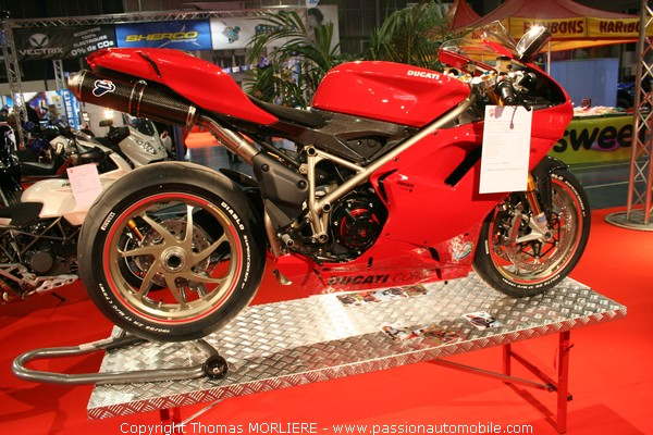 ducati 1198 s au salon moto de lyon 2009. Black Bedroom Furniture Sets. Home Design Ideas