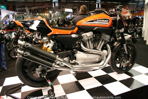 harley davidson au salon moto de lyon 2009. Black Bedroom Furniture Sets. Home Design Ideas