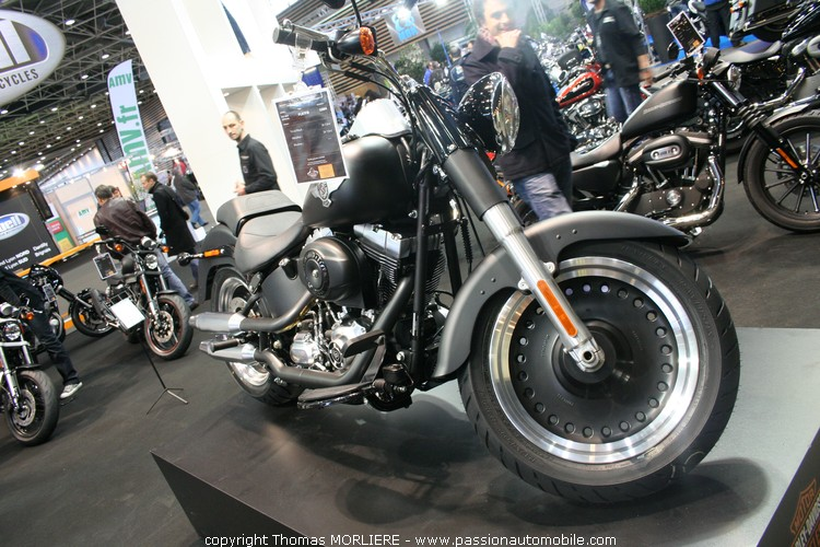 moto harley davidson harley davidson au salon 2 roues de lyon 2010. Black Bedroom Furniture Sets. Home Design Ideas