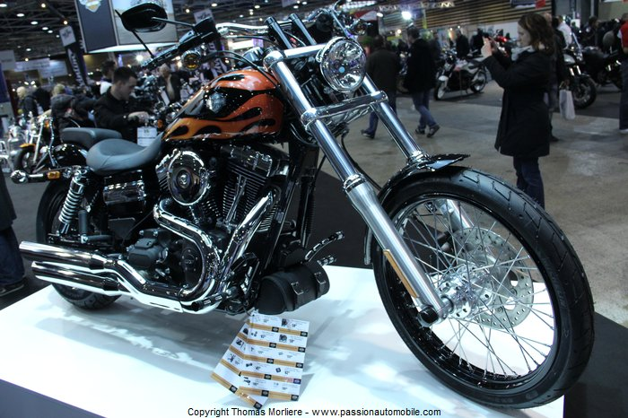 harley davidson wide glide 2014 salon moto de lyon 2014. Black Bedroom Furniture Sets. Home Design Ideas