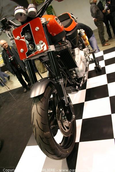 harley xr1200 hd salon moto de lyon 2009. Black Bedroom Furniture Sets. Home Design Ideas