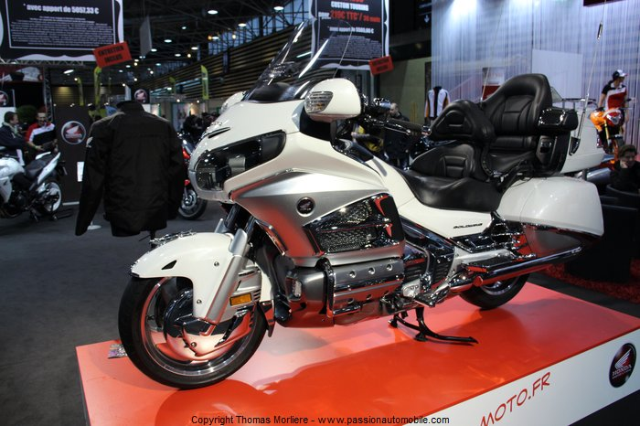 honda goldwing 1800 full 2014 au salon 2 roues moto de lyon 2014. Black Bedroom Furniture Sets. Home Design Ideas