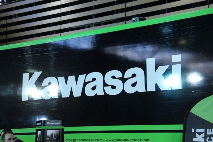 Kawasaki au salon 2 roues moto de lyon 2014 for Salon retromobile lyon