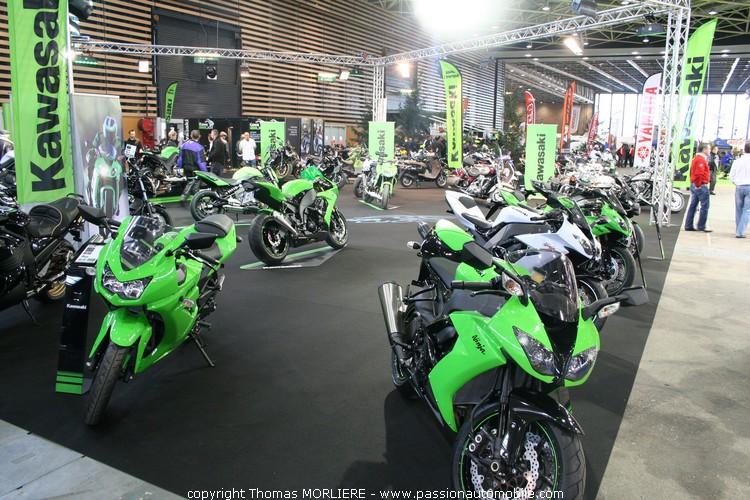 Kawazaki au salon moto de lyon 2010 for Salon de la moto lyon