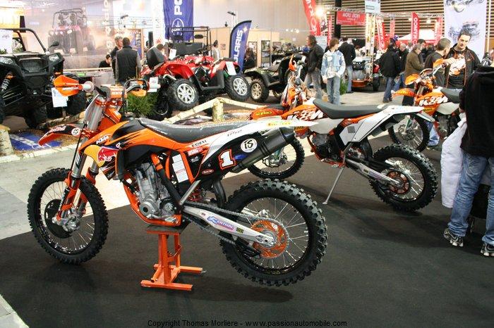 Ktm moto 2011 salon de la moto 2 roues lyon 2011 for Salon de la moto lyon