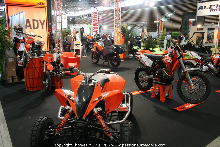 Ktm au salon moto de lyon 2010 for Salon 2 roues