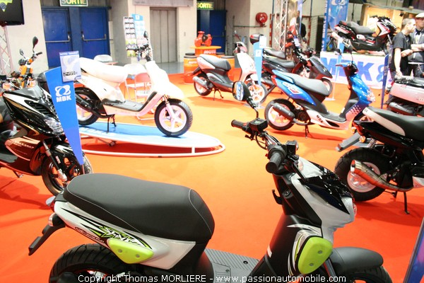 scooter mbk salon moto de lyon 2009. Black Bedroom Furniture Sets. Home Design Ideas