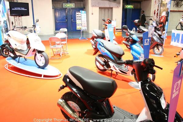 Scooter mbk salon de la moto de lyon 2009 for Salon de la moto lyon