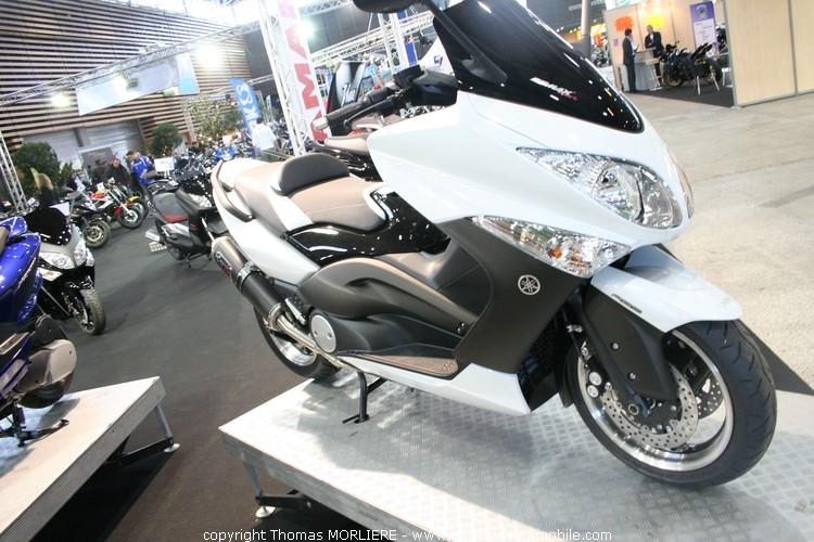 stand yamaha salon moto de lyon 2010. Black Bedroom Furniture Sets. Home Design Ideas