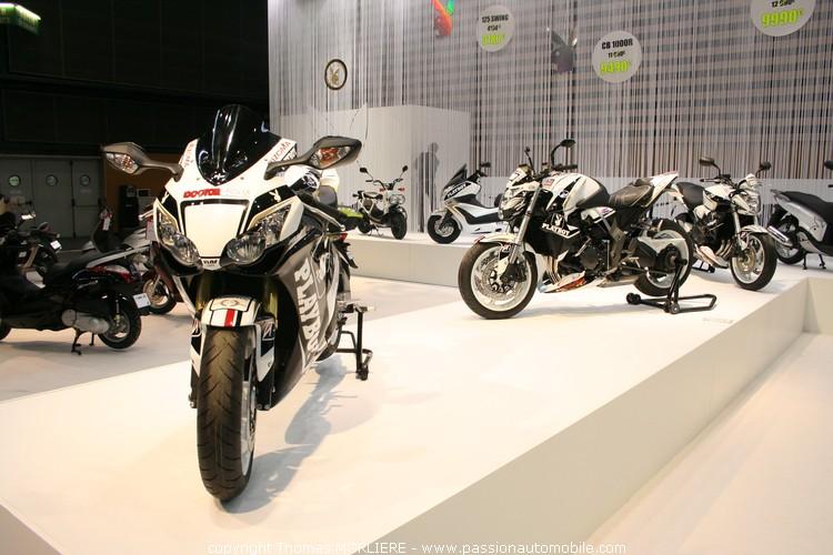 Stand honda salon 2 roues quad lyon 2010 - Salon 2 roues lyon ...