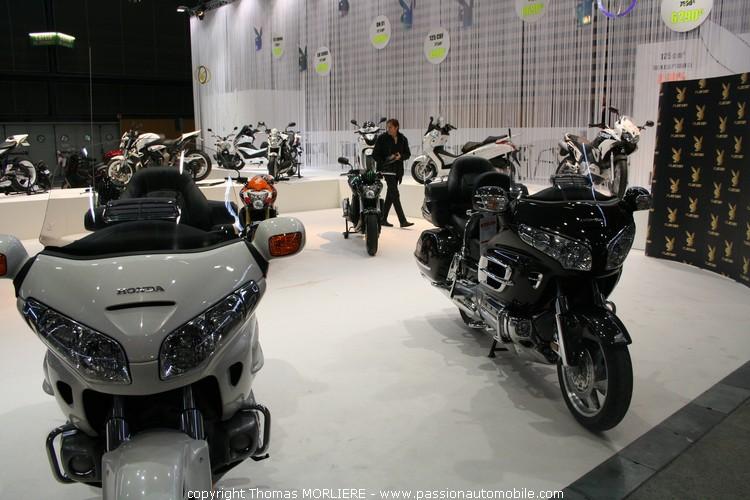 stand honda salon moto de lyon 2010
