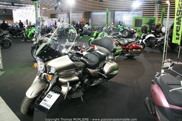 Stand kawazaki salon de la moto de lyon 2010 for Salon de la moto lyon