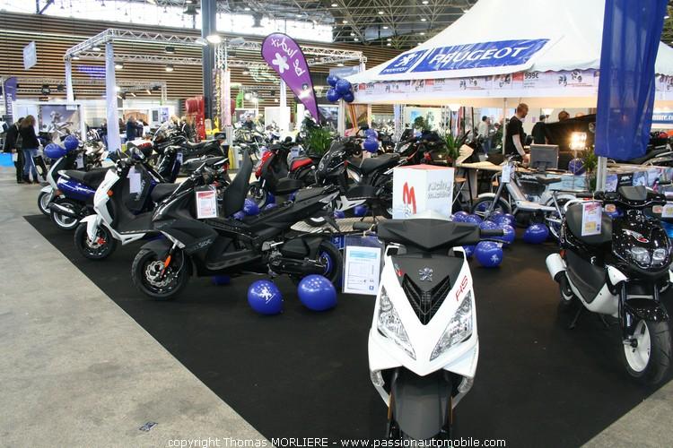 Stand peugeot salon 2 roues quad lyon 2010 - Salon 2 roues lyon ...