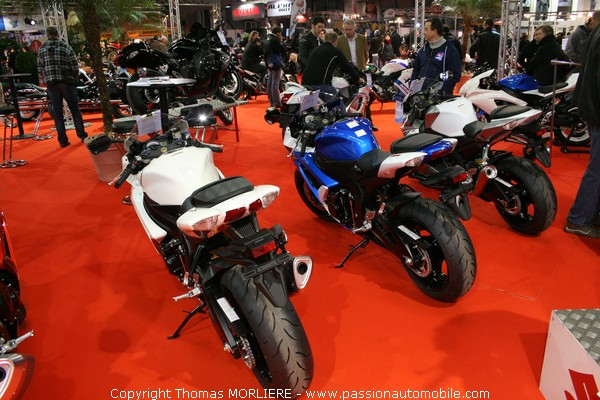 Moto suzuki salon de la moto de lyon 2009 for Salon de la moto lyon