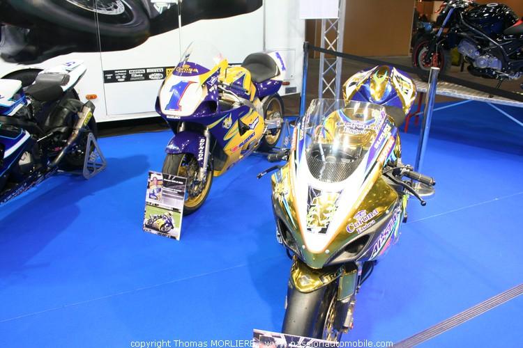 Suzuki au salon moto de lyon 2010 for Prix stand salon
