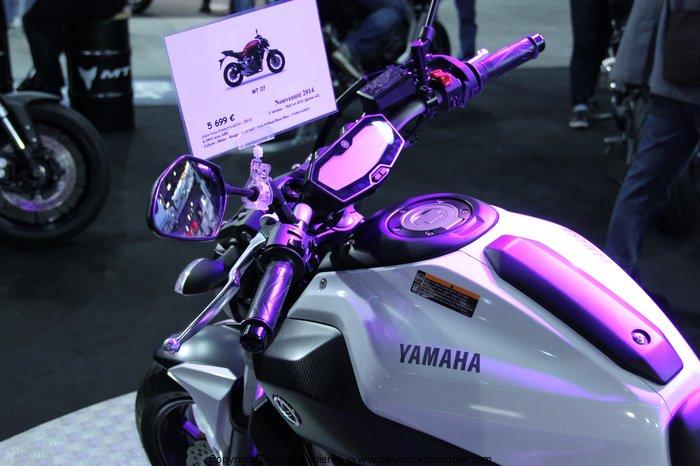 Yamaha mt 07 2014 salon de la moto 2 roues lyon 2014 - Salon de la photo lyon ...