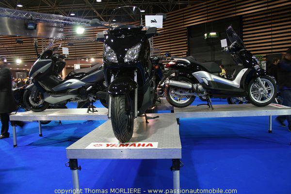 Yamaha au salon de la moto de lyon 2008 for Salon de la moto lyon
