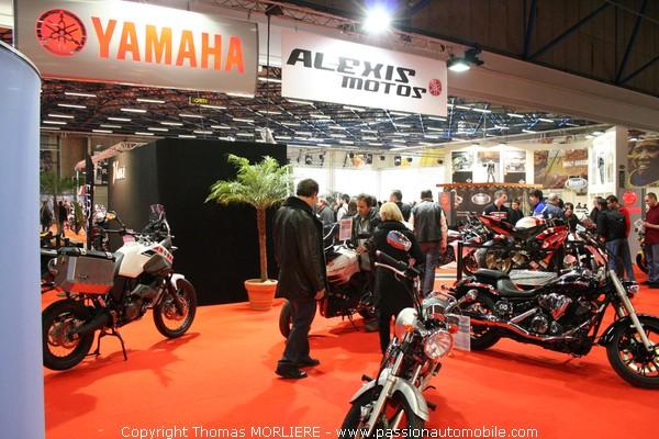 Moto yamaha salon de la moto de lyon 2009 for Salon de la moto lyon