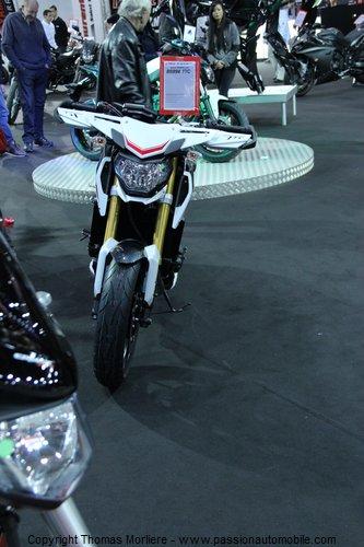 yamaha au salon 2 roues moto de lyon 2014. Black Bedroom Furniture Sets. Home Design Ideas