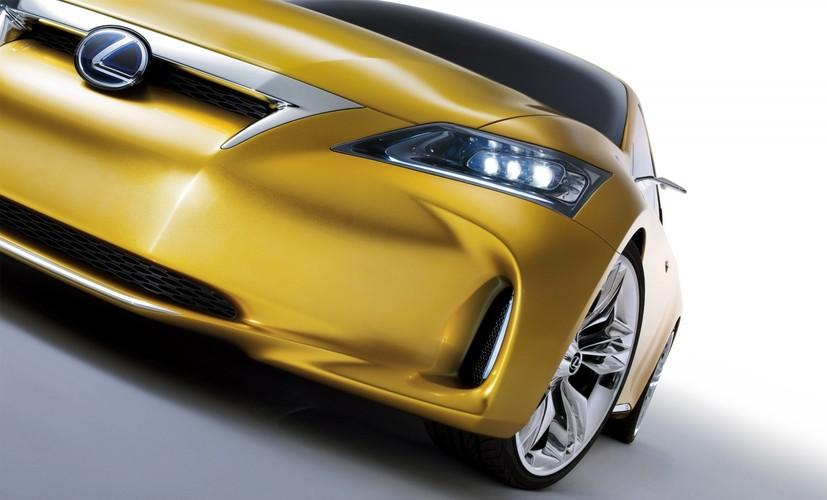lexus lf ch full hybrid concept 2009 au salon automobile de francfort. Black Bedroom Furniture Sets. Home Design Ideas